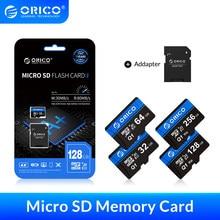 ORICO-tarjeta de memoria Micro SD para coche, 256GB de 128GB, 64GB, 32GB, 80 MB/S, tarjeta flash Clase 10, tarjeta TF de 32GB