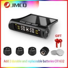 JMCQ Tire Pressure Alarm System Smart TPMS Solar Power Safety Car Lcd Power Digital LCD Display Auto Security Alarm Pressure цена 2017