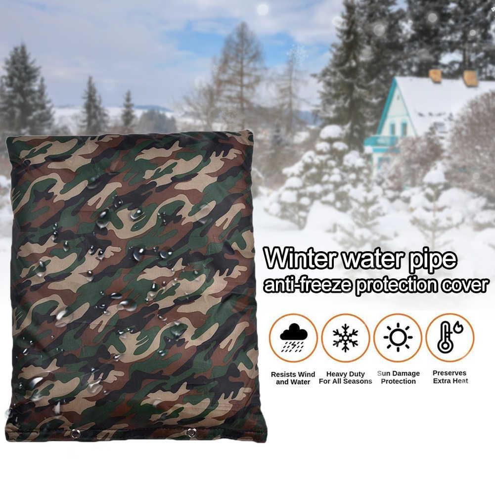 Pipe Insulation Bag Backflow Preventer Sprinkler Freeze Protection Home Garden