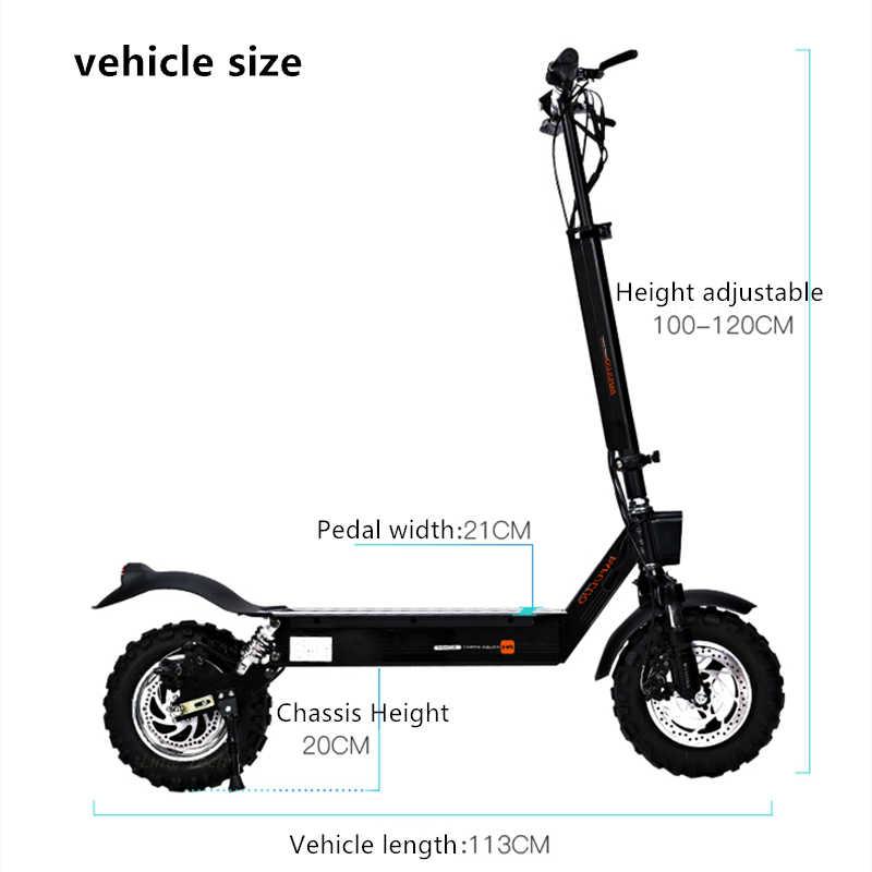 2019 Originale PFULUO X-11 Smart Scooter Elettrico 1000W Motore 11 pollici 2 ruota hoverboard skateboard 50 km/h di Velocità Massima off-road