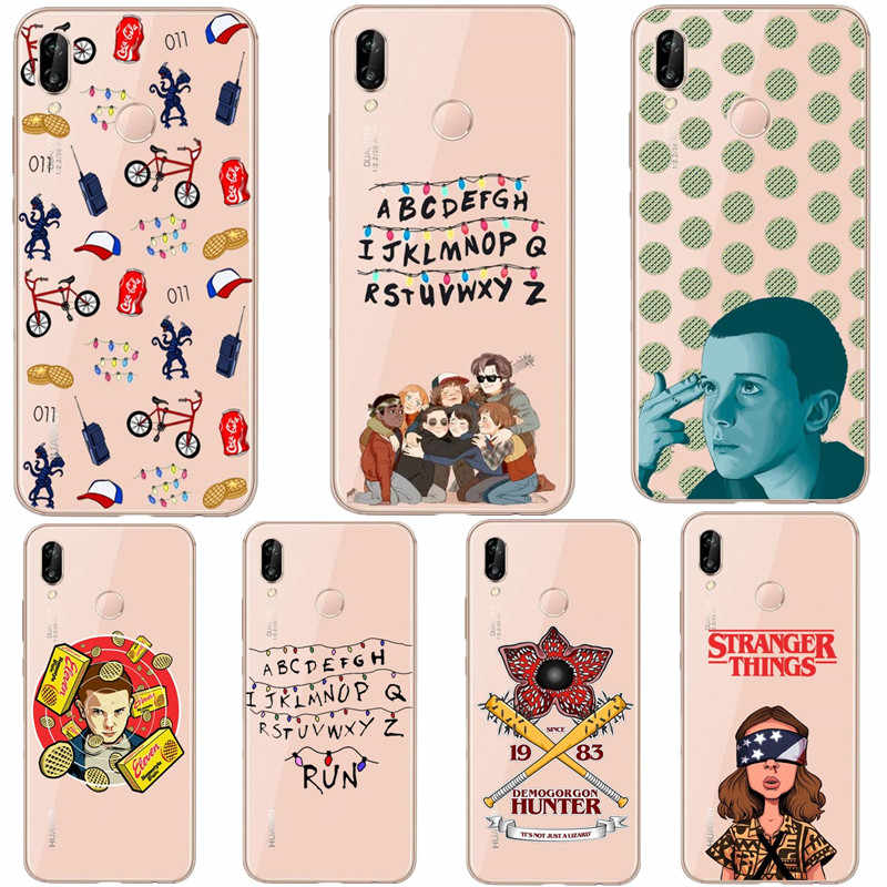 Stranger things season 3 Silicone Phone Case For Huawei Mate 10 lite Mate 20 Pro P10 Lite P20 Pro P30 Lite P30 Pro Cover