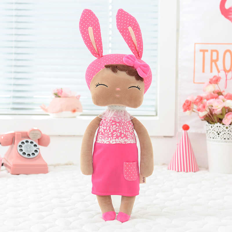 Metoo Angela Black beauty Dolls 2019 Special Edition Plush Toys with Box Dreaming Girl Plush Rabbit Stuffed Gift Toys