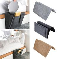 Felt bedside storage bag bedroom bedside storage blanket hanging bag Sofa Organizer Pockets Book Holder Pockets