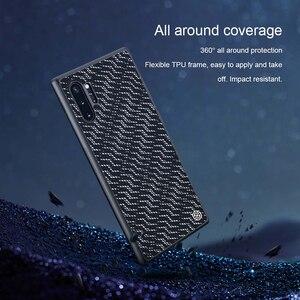 Image 3 - Samsung Galaxy not için 10 artı durumda Nillkin pırıltı degrade dokulu plastik silikon hibrid kılıfları Samsung Galaxy not için 10
