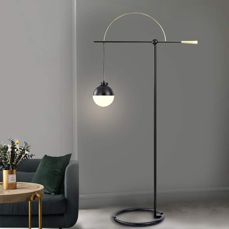 Personality Go Fishing Floor Lamp