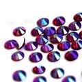 Dark Siam AB все размеры SS3-SS30 Стразы для маникюра кристаллы для блесток художественное оформление ногтей не горячая фиксация Блестки Камни - фото