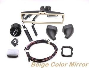 Image 4 - Auto przełącznik reflektorów światło deszczowe wycieraczki przeciwodblaskowe przeciwodblaskowe przyciemnianie lusterko wsteczne dla VW Tiguan Jetta MK5 Golf 6 MK6