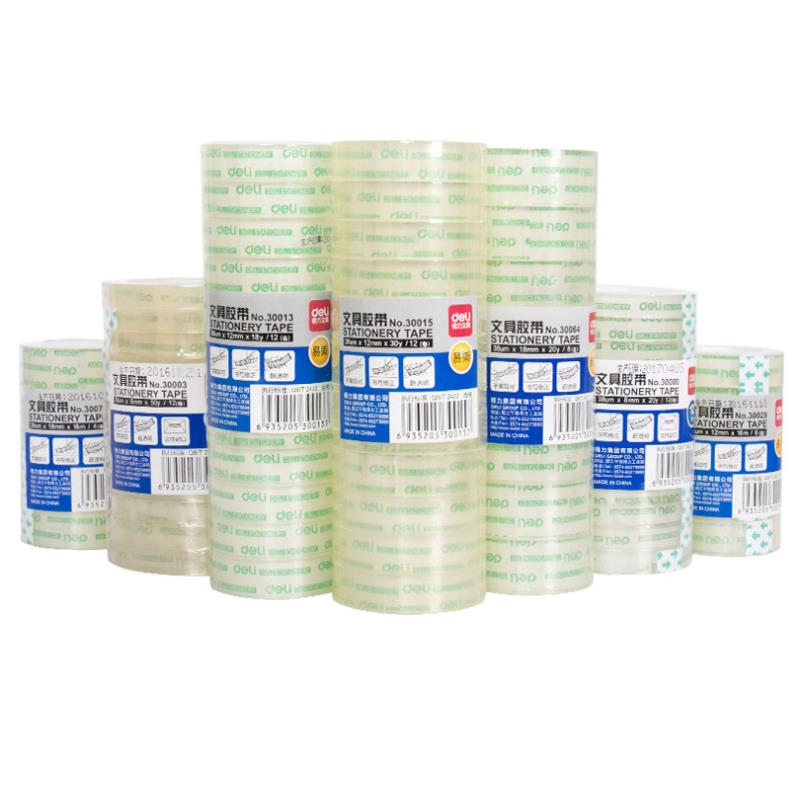 1 Pcs Transparent Tape DIY Stationery Tape Business Tape Student Special Tape Tools School Office Supplies