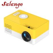 Salange J15 мини проектор Поддержка 1080P видео дисплей домашний медиаплеер Карманный видео проектор подарок для друзей детей
