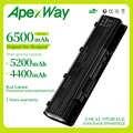 Apexway Batteria Del Computer Portatile A32-N55 07G016 HY1875 per Asus N45 N45E N45S N45F N55 N55E N55S N55SF N75 N75E N75S N75SF batteria