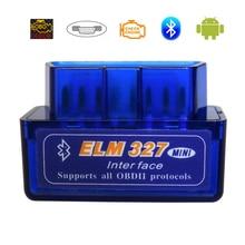 Elm 327 OBD2 Scanner Elm327 Bluetooth Obdii Cord Reader Diagnose Scanner Voor Auto Elm 327 V2.1 Obd 2 Auto diagnostic Tools