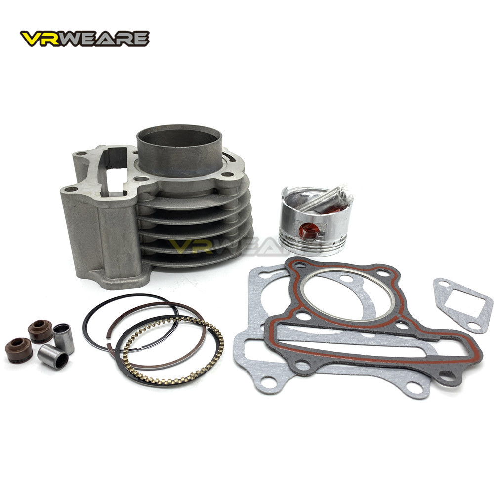 GY6 cylinder Kit 50mm big bore Cylinder Piston Ring Set for 4 stroke Scooter Moped 139QMB 147QMD GY6 50 60 80 cm3 to 100 cm3 Engines     - title=