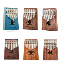 Kalimba17Key Mahogany Thumb Piano Midi Keyboard Kalimba Finger Mini Instrument