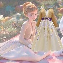 Giáng Sinh Năm 2020 Đông Lạnh 2 Nữ Hoàng Anna Đầm Trang Phục Hóa Trang Cho Bé Gái Đảng Công Chúa Vestidos Trẻ Quần Áo Đầm 3 12 Năm