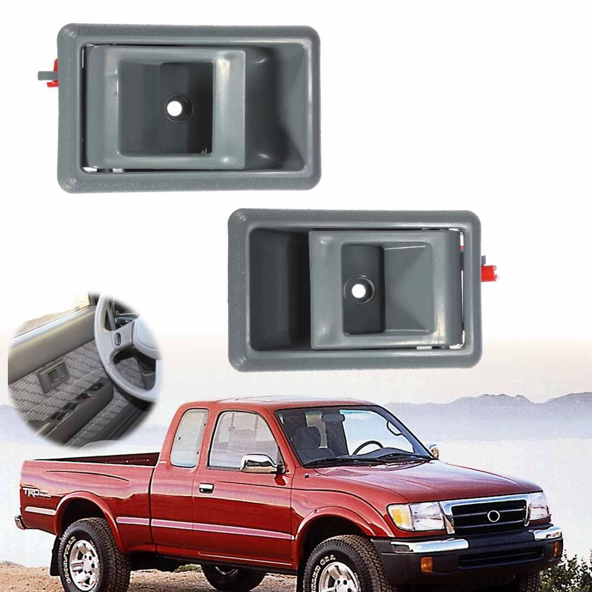Left Right Side Car Interior Door Handle For Toyota Tacoma 4runner Pickup 1995 1996 1997 1998 1999 2000 69205 04010 To1353105 Interior Door Handles Aliexpress