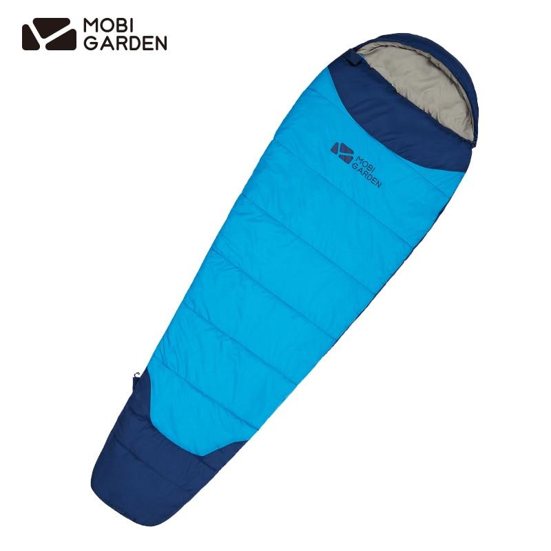 Mobigarden Propitious Cloud Mummy Outdoor Sleeping Bag Tear Resistant W/r Single Adult Autumn Winter Warm Sleepingbag Ex20562001 Delicious In Taste