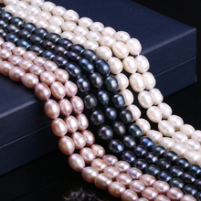 Natural Freshwater Pearl Beaded Baroque Natural Pearl Loose Beads For Jewelry Making Necklace DIY Bracelet Accessories 14 Inches 16 inches 30 40mm aaa natural lavender fireball baroque pearl loose strand