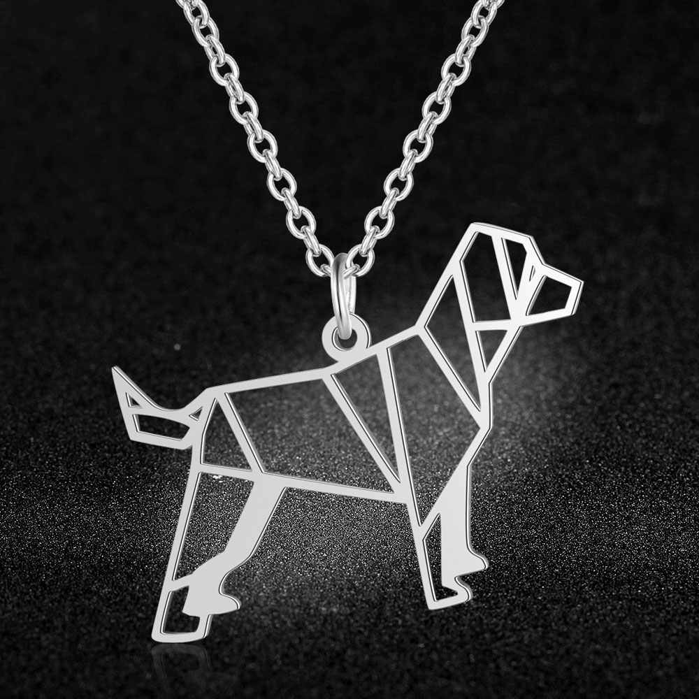 100% Real Stainless Steel Animal Dog Necklace Trend Jewelry Necklaces Fashion Animal Pendant Necklaces Amazing Design