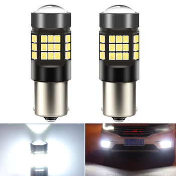 2X LED Bulb 1156 BA15S P21W Car Turn Signal Lamp Daytime running lights DRL BMW E53 E70 F10 F30 F20 E87 M3 M5 E60 E90 E91 E92 E3 image
