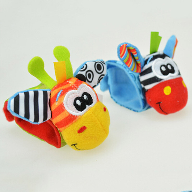 2pcs-Baby-Rattles-Stuffed-Toys-Animal-Socks-Plush-Rattle-with-Ring-Bell-Toy-For-Toddlers-Learning (2)