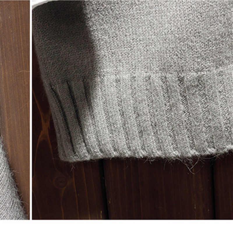 Fgkks 남자 터틀넥 스웨터 트렌드 브랜드 남자 슬림 피트 와일드 풀오버 스웨터 패션 솔리드 컬러 캐주얼 스웨터 남성