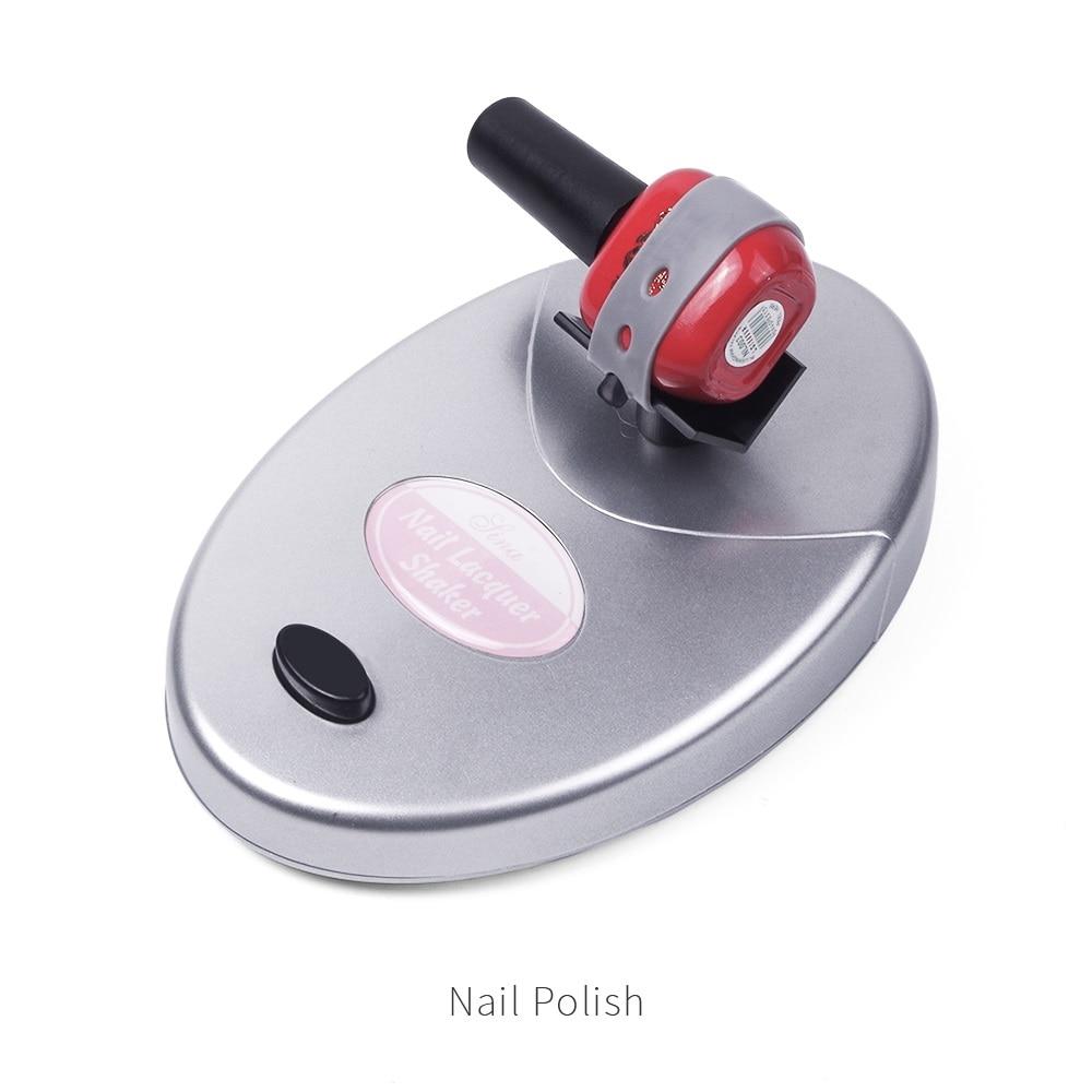 Electric Adjustable Nail Polish Shaker Gel Nail Polish Ink Paint Shaking Device Liquid Bottle Anti Caking Shaking Machine