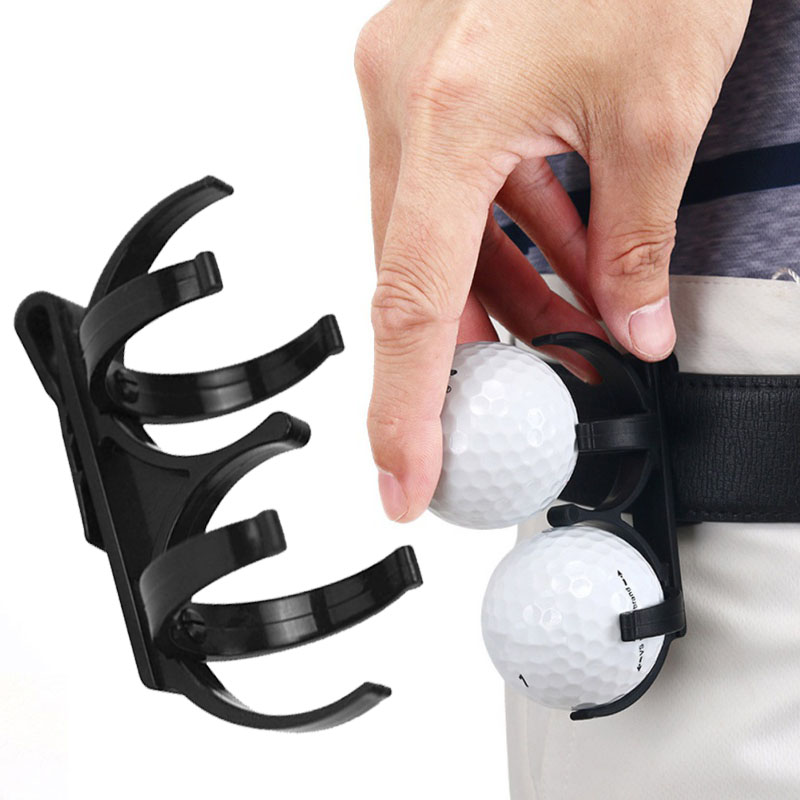 2019 New Fashion Golfer Golfing Sporting Training Tool Accessories Golf Ball Holder Clip Golf Ball Holder Clip Magic Ball Games