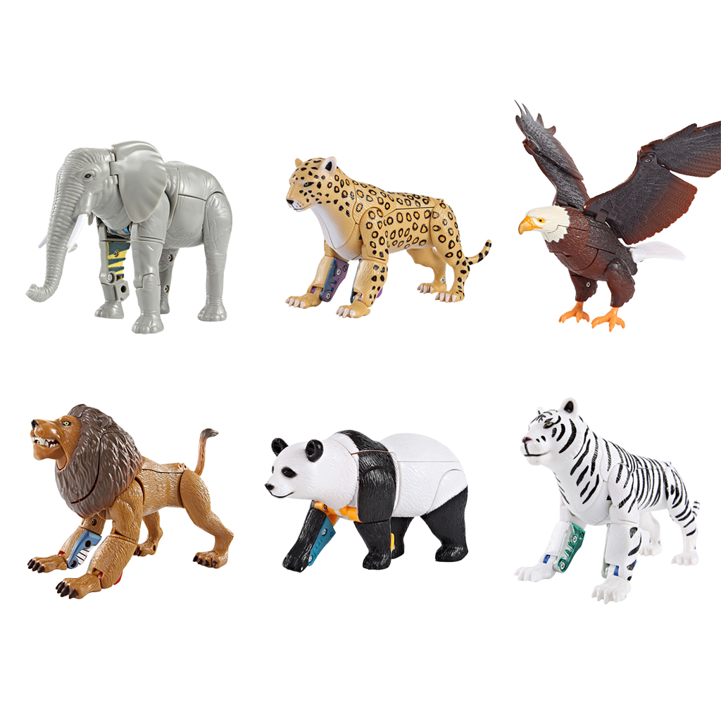 Animals Robot Educational Transforming Toys for Preschool Toddlers Kids Boys Girls 3 4 5 6 7 Olds and Up