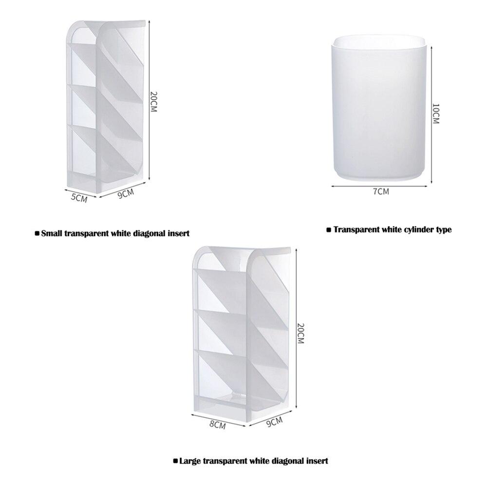 Creative Multifunctional 4 Grid Desktop Organizer Product Size