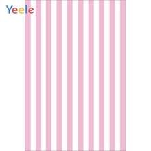 Yeele Pink White Stripe Baby Birthday Photocall Party Photography Backgrounds Customized Photographic Backdrops for Photo Studio