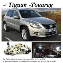 Perfect 100% White Error Free interior LED bulb reading map dome roof light Kit For VW For Tiguan For Touareg 7L 7P (2003 2015)