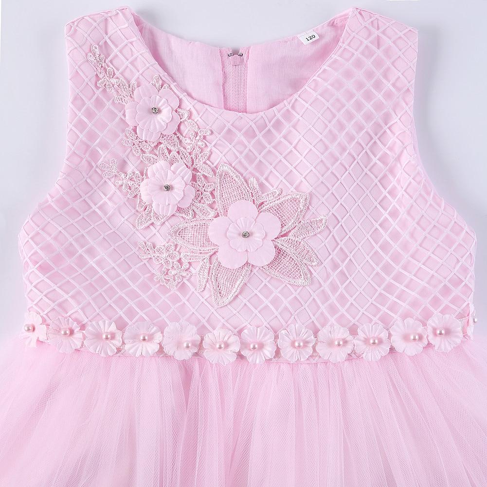 CHILDREN'S Dress Princess Dress Flower Boys/Flower Girls Flower Stickers Dress Children Performance Late Formal Dress