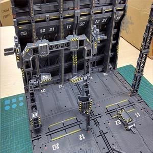 Image 3 - 4 개/대 DIY 기계 체인 액션 디스플레이 기본 기계 둥지 1/100 건담 모델에 대 한 Decals