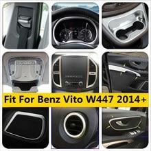 Kit de remise en état d'intérieur pour Mercedes | Mat pour mercedes-benz Vito W447 2014 - 2019 tableau de bord/support de verre/Air/poignée