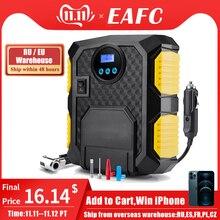 Inflador de neumáticos digital para coche, bomba de compresor de aire portátil para bicicletas, coche y motocicletas, 150 PSI, 12 voltios de CC