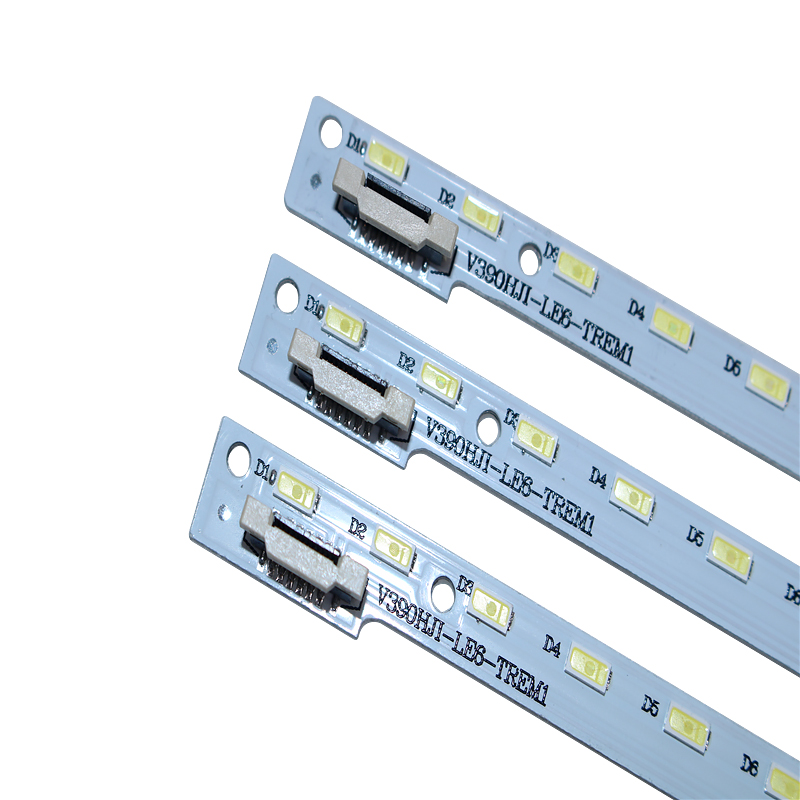 New 10 PCS/lot 48LED 490mm LED Backlight Strip For 39inch V390HJ1-LE6-TREM1 V390HJ1-LE6-TREW1 C420E06E01A L390H101EA-C002