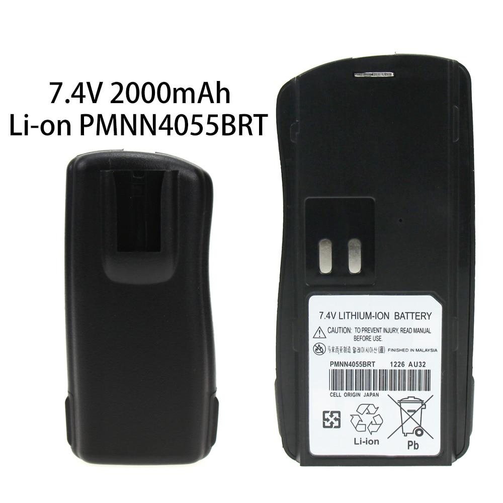 7.4v 2000mAh Li-on Two-way Radio Battery For Motorola PMNN4046 PMNN4046A PMNN4046R AXU4100 AXV5100 CP125 GM338 GM398 GP2000