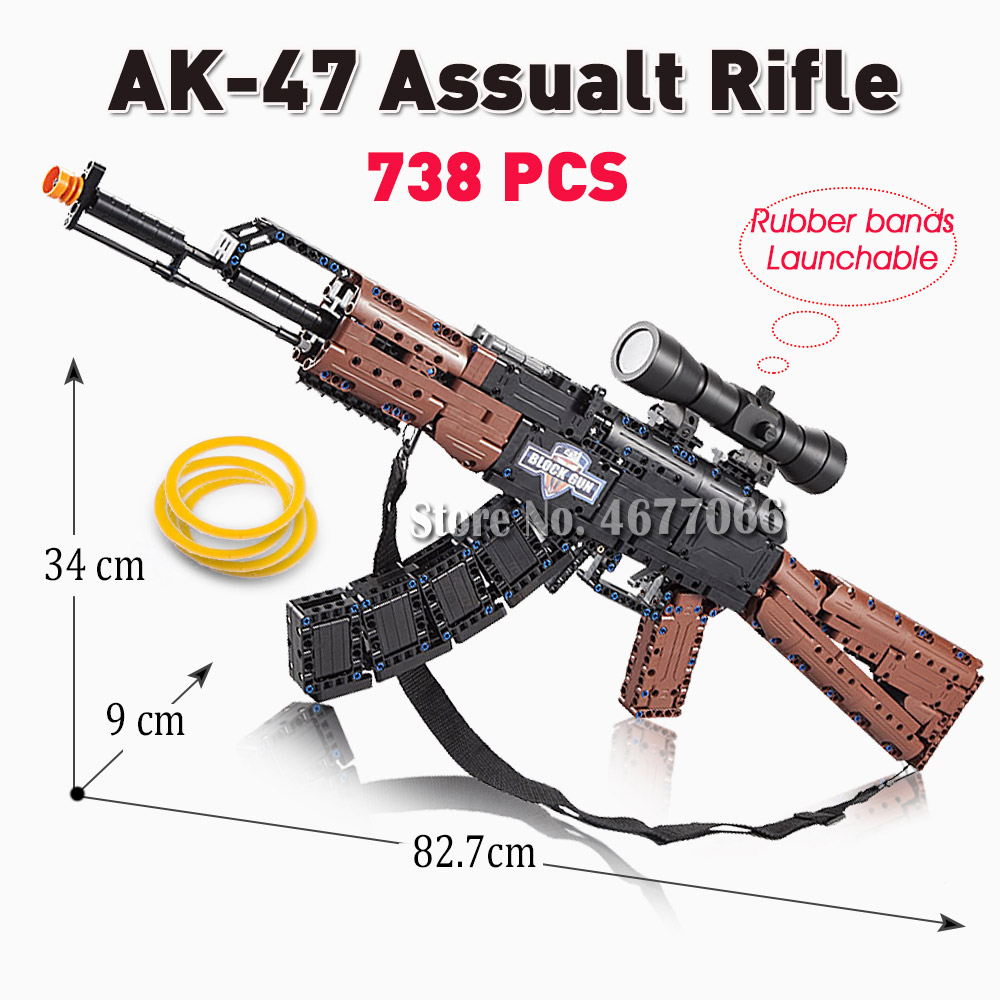 AK47 improved-738PCS
