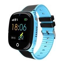 HW11 chroniący przed zgubieniem dziecięcy zegarek zegarek z gps-em dla dzieci inteligentne monitorowanie pozycjonowanie zegarek lokalizator GPS zegarek dziecięcy Smart Watch mężczyzna z tworzywa sztucznego tanie tanio ONLENY Proprietary OS Na nadgarstku Wszystko kompatybilny 256MB Tętna Tracker Naciśnij wiadomość Wiadomość przypomnienie