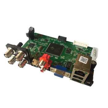 4CH 5M-N AHD DVR Board cctv recorder XMEye APP ONVIF 4 IN1 4 Channel Video Recorder For AHD/CVI/TVI/CVBS Cameras