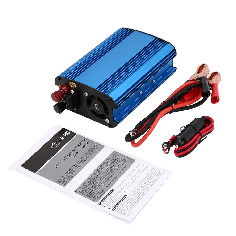 Professional 3000W Power Inverter DC to AC Home Fan Cooling Side LED Display Car Converter for Household Appliances