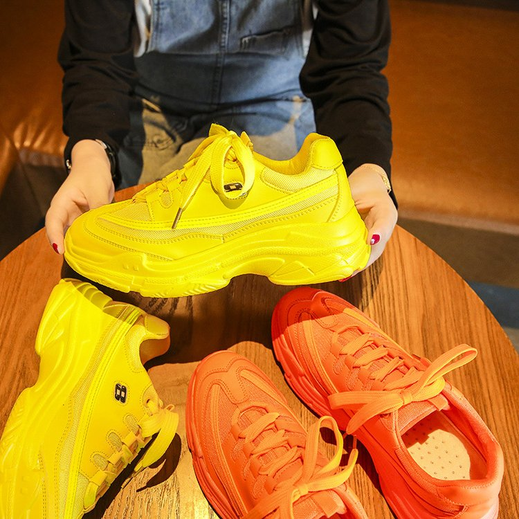 Candy-Colored Fashion Chunky Sneakers 9