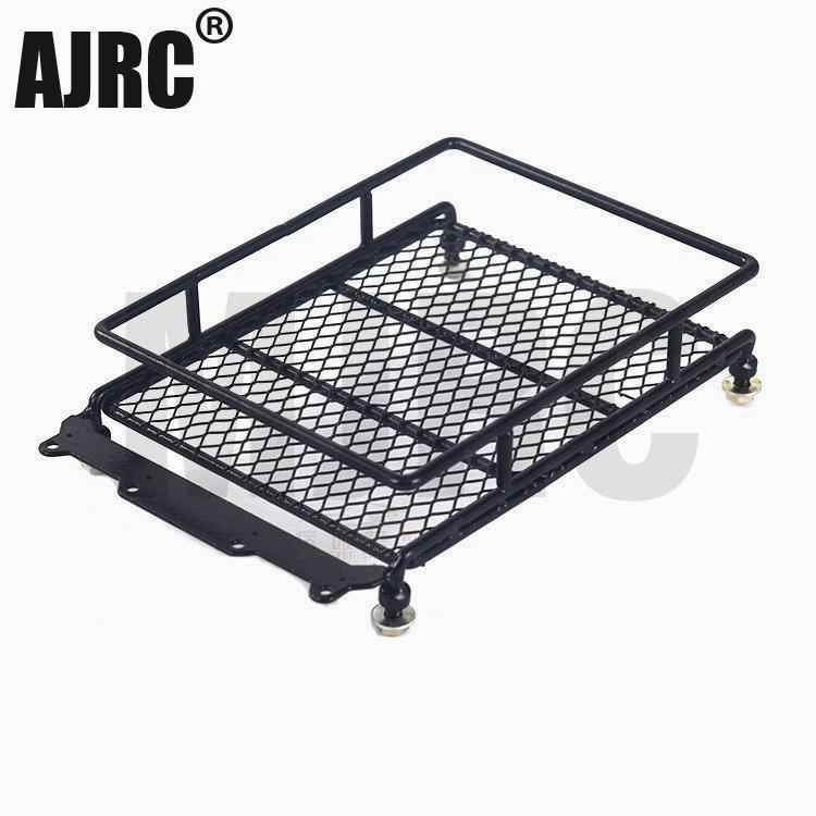 RC //10 Alloy Roof Rack w// Round LED Light for Axial SCX10 Rock Crawler Kits