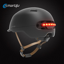 Adult Helmet Bicycle-Lamp Bike Road-Scooter MTB Smart-Tail-Light Cycling Xiaomi Sport