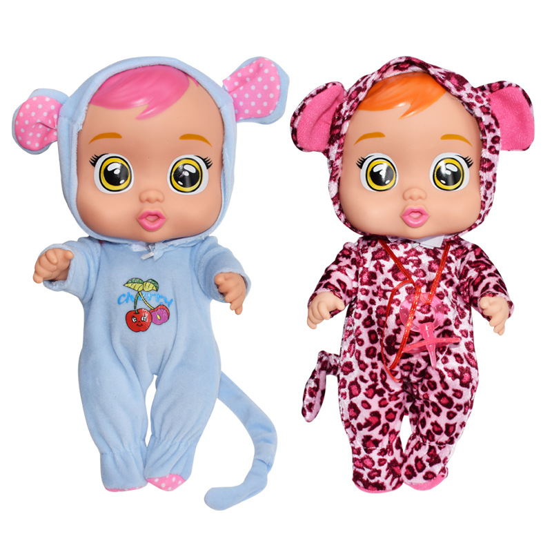 Surprise Cry Doll New Style Baby CHILDREN'S Toy Educational Play House Toy Doll Cross Border Wholesale 12-Inch