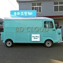 Мобильные тележки быстрого питания/передвижной обеденный автомобиль грузовик открытый уличный кухня для продажи