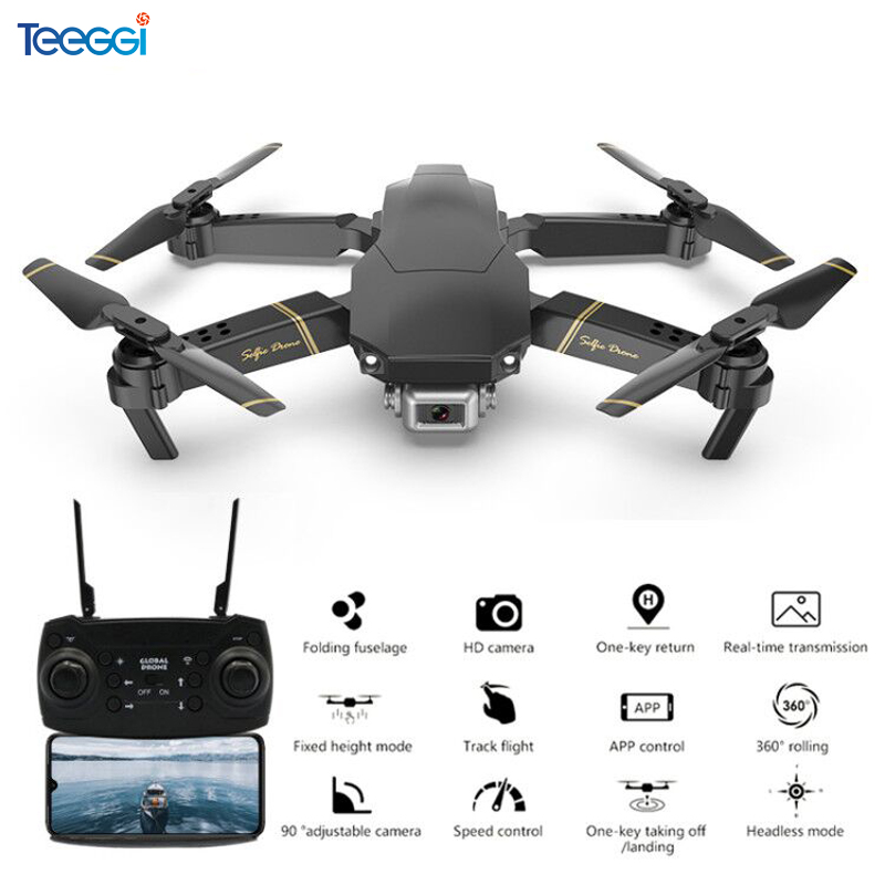 Teeggi M65 RC Drone with 1080P HD Camera FPV WIFI Altitude Hold Selife Drone Folding RC