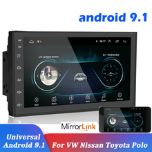 цена на 2.5D Android  Car Multimedia MP5 Player Radio GPS WIFI 7'' Touch Screen Bluetooth FM Audio Stereo