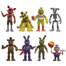 Hot Thriller game Five Nights at Freddys action figures wolf model bear robot joker wolf rabbit doll toys collection for gifts