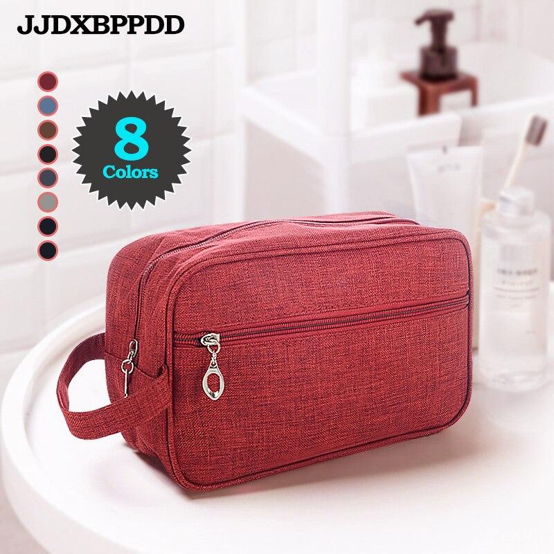 JJDXBPPDD Women Men Waterproof Makeup Bag Nylon Travel Cosmetic Bag Organizer Case Necessaries Make Up Wash Toiletry Bag